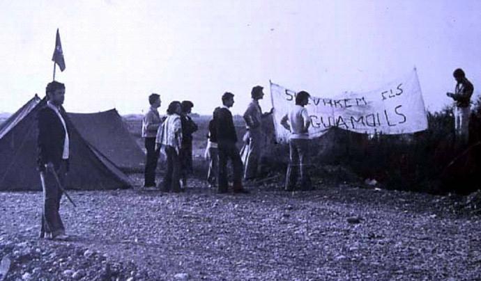 El 1978 la ciutadania va aconseguir salvar el Parc Natural dels Aiguamolls de l'Empordà Font: Jordi Sargatal