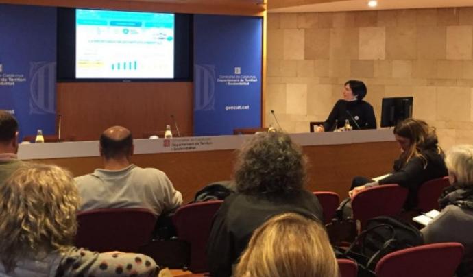 La custòdia del territori i el voluntariat ambiental són els àmbits de treball de Sandra Carrera en la XCT i la XVAC