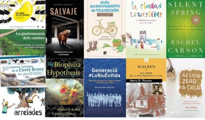 12 propostes per regalar llibres de natura per Sant Jordi   Font: XVAC