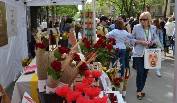 La parada de roses se situarà a la Rambla de Catalunya, 32. Font: FCVS