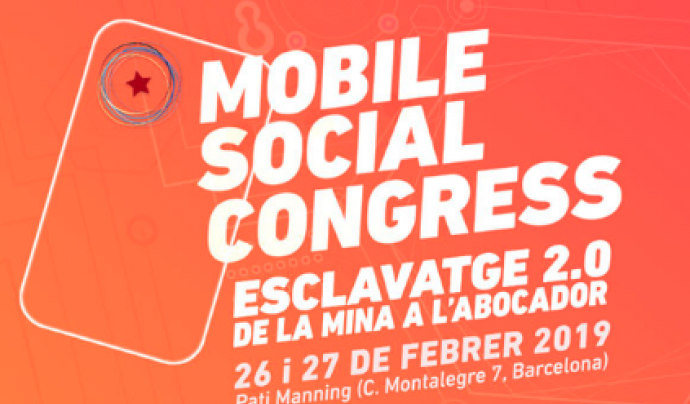 Cartell del Mobile Social Congress Font: Mobile Social Congress