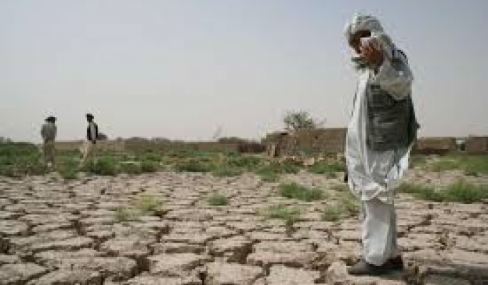 Sequera a l'Afganistan  Font: Acnur