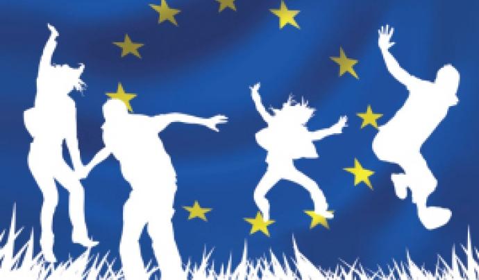 Logo del Servei de Voluntariat Europeu.
