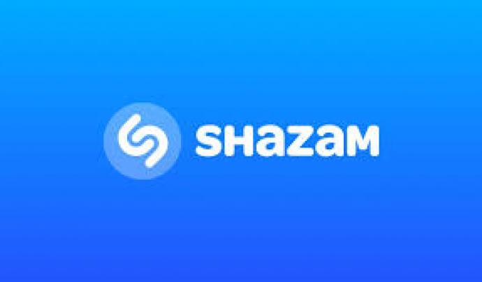 Logo de l'app Shazam. Font: Shazam