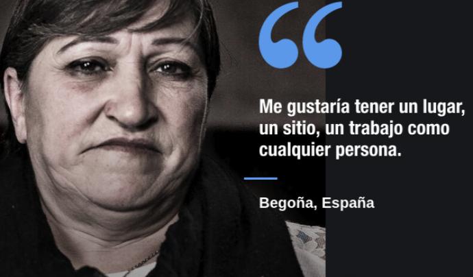 Begoña és una altra de les persones que surten a Siria app.