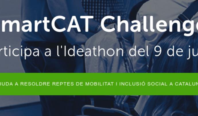 Imatge promocional de l'Ideathon que se celebrarà el proper 9 de juny Font: SmartCat Challenge
