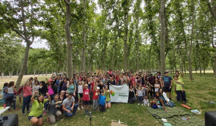30.000 persones llueixen el braçalet verd #SetmanaNatura i  mostren el seu compromís amb la natura Font: Associació de Naturalistes de Girona
