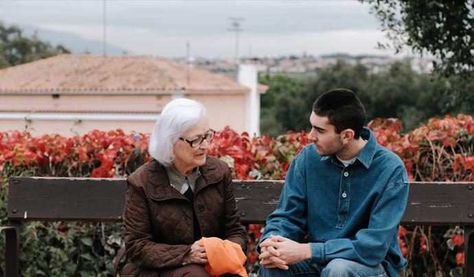 ABD ha llençat una campanya amb un espot en vídeo per sensibilitzar sobre la soledat de la gent gran. Font: ABD