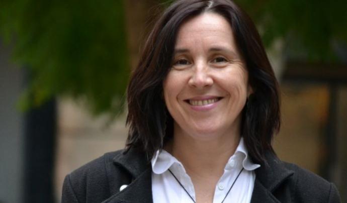 Sònia Fuertes, vicepresidenta de la Taula del Tercer Sector Social. Font: ECAS
