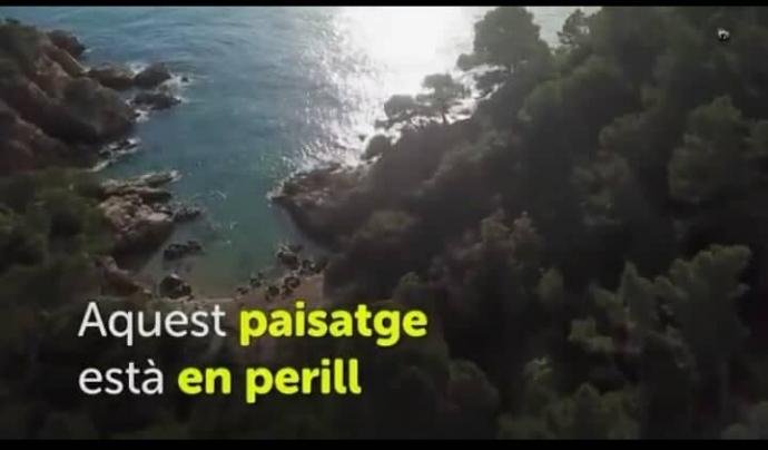 La mala gestió urbanística de la Costa Brava la fa mereixedora de una bandera negra global, per a Ecologistes en acció  Font: SOS Costa Brava