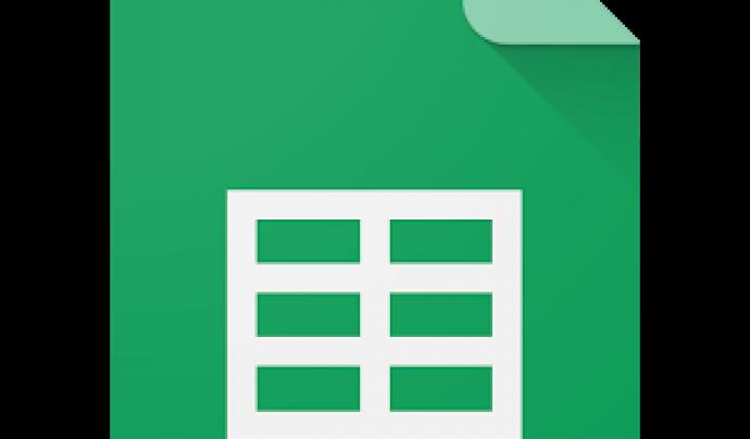 Full de Càlcul de Google Drive Font: Google Drive