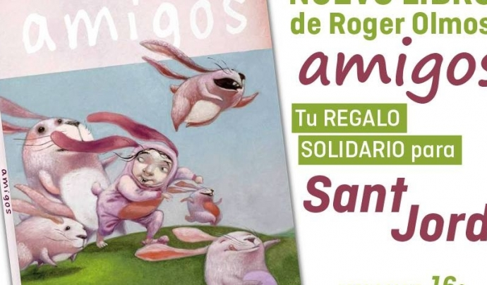 Roger Olmos és un il·lustrador compromès amb la defensa del drets dels animals