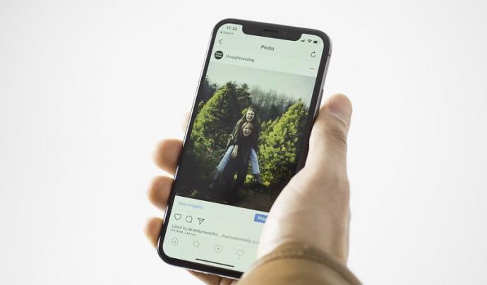 Instagram és una de les xarxes socials més utilitzades del moment. Imatge de Stock Catalog. Llicència d'ús CC BY 2.0 Font: Stock Catalog. Llicència d'ús CC BY 2.0