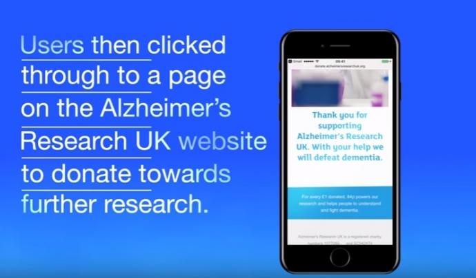 Imatge del vídeo de la campanya. Font: Youtube