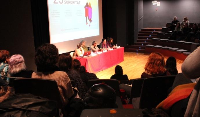 """Jornada """"Tamaia: 25 anys filant polítiques feministes"""" Font: Eneida Iturbe (Colectic)"""