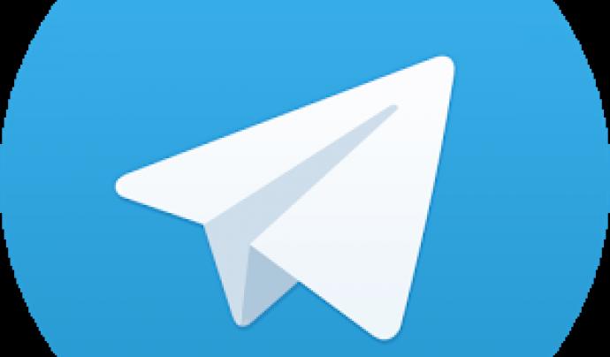 Icona de l'aplicació Telegram Font: Telegram