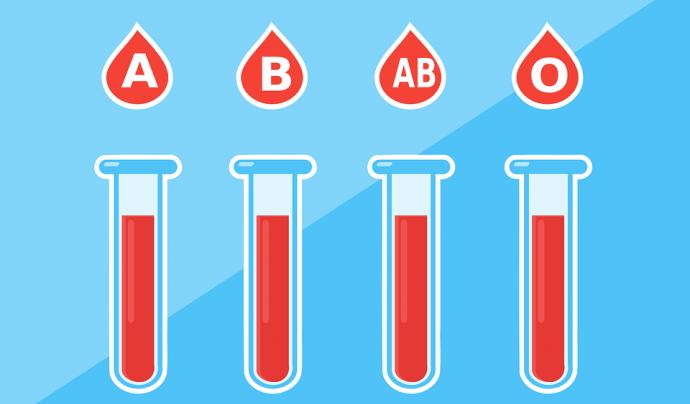 Diferents tipologies de sang. Font: Pixabay
