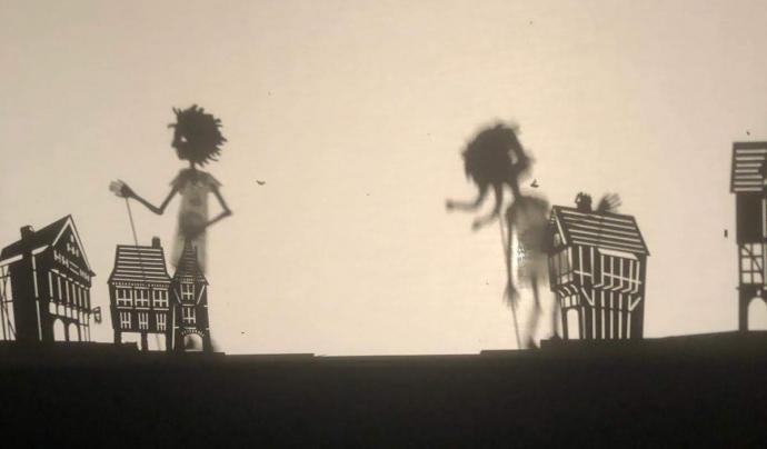La Fira de Titelles reuneix espectacles titellaires amb diferents tècniques, com titelles d'ombres Font: Ajuntament de Sant Martí Vell