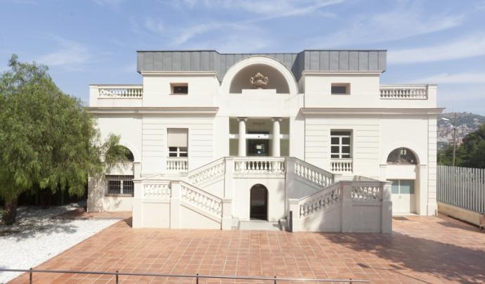 Edifici del Centre de Serveis a les Associacions de Barcelona