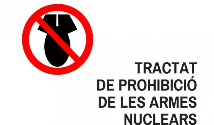 La Campanya Internacional per la Prohibició de les Armes Nuclears és una de les iniciatives en què el Centre Delàs hi va participar activament.