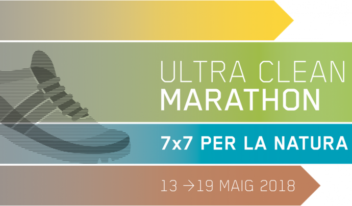 Cada etapa de l'Ultra Clean Marathon es divideix en diferents trams perquè cada participant pugui escollir el nivell d'exigència que vol posar al seu repte de córrer per la natura. Font: Ultra Clean Marathon