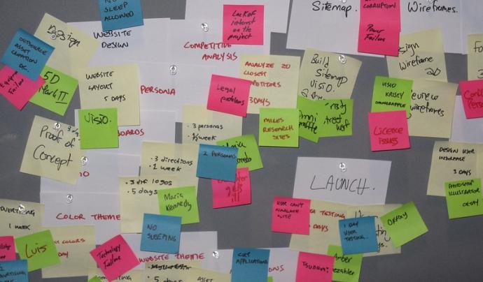 Sense una eina de gestió, els projectes poden arribar a ser complexes. Imatge de VFS Digital Design. Llicència d'ús CC BY 2.0 Font: VFS Digital Design. Llicència d'ús CC BY 2.0