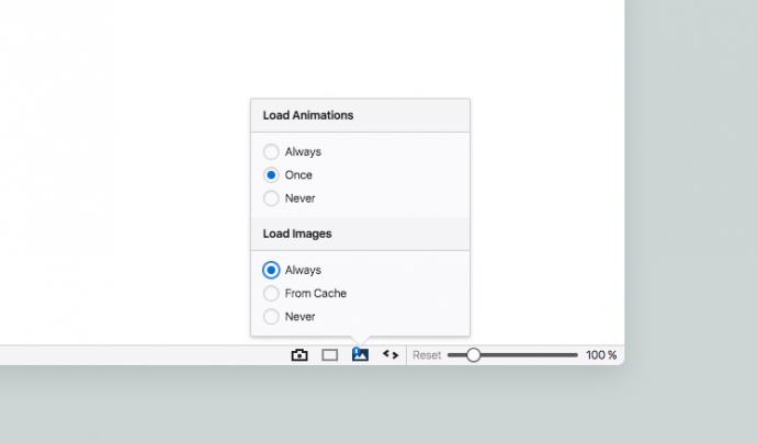 Captura de pantalla del navegador Vivaldi.
