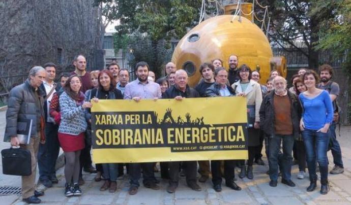 La Xarxa per la Sobirania Energètica és una de les entitats promotores del Volt de l'Energia
