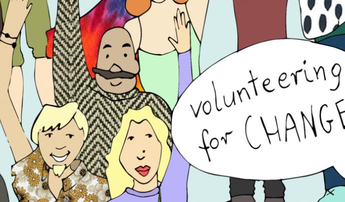 """""""Voluntariat pel canvi"""" és un dels programes de la Fundació Catalunya Voluntària"""