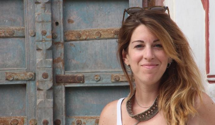 Vila, especialista en conflictes, ha treballat en mitjans com 8tv, Catalunya Ràdio o grups com Mediapro.  Font: Natàlia Vila