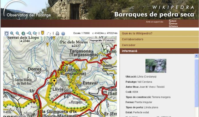 Wikipedra és un espai web 2.0 sobre construccions de pedra seca