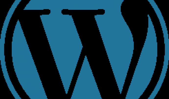Wolrdpress és un gestor de continguts basat en pàgines web.  Font: Wordpress