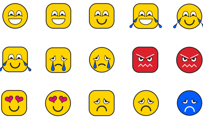 Actualment els emojis no són accessibles per a tothom. Imatge de We Are Social Font: We Are Social