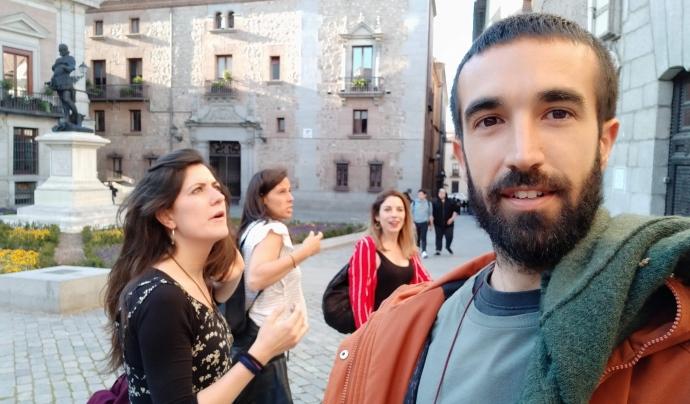 Xavier Pérez, mentor del Programa Català de Refugi. Font: Xavier Pérez