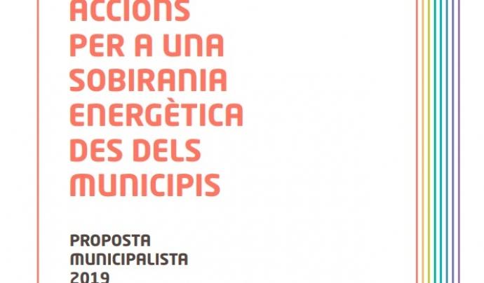 Proposta municipalista Xse Font: Xarxa per la Sobirania Energètica