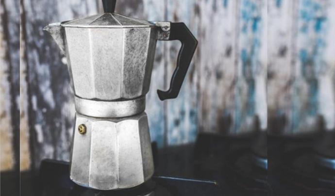 La cafetera italiana, paradigma del disseny sostenible.  Font: Fundació Rezero