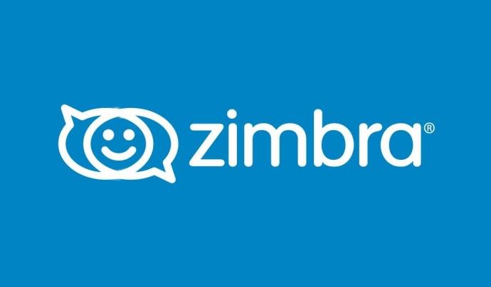 Zimbra és un client de correu electrònic que permet desenvolupar millores. Imatge de Zimbra. Font: Zimbra