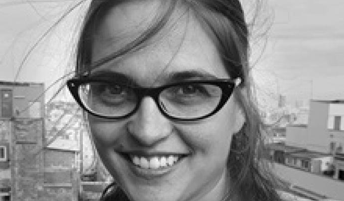 Cecile Barbeito és investigadora i formadora en educació per a la pau a l'Escola de Cultura de Pau de la UAB. Font: Escola de Cultura de Pau