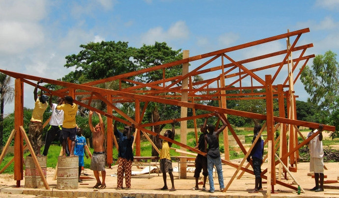 Base-A ha desenvolupat molts projectes de cooperació al Senegal. Font: Base-A