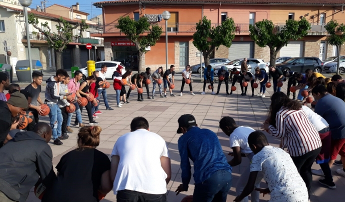 Basket Beat ofereix al voltant de 30 tallers setmanals a col·lectius ben diversos. Font: Basket Beat