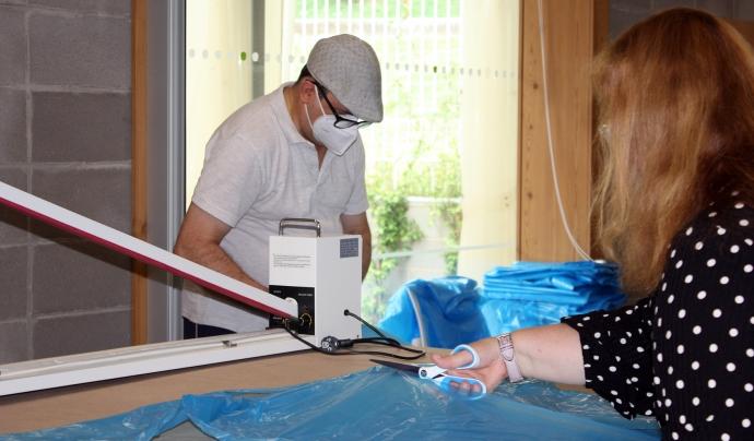Osonament i Sant Tomàs continuaran amb l'elaboració de bates per al Consorci Hospitalari de Vic. Font: Osonament
