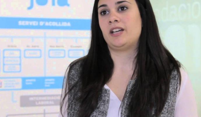Beatriz castillo, responsable de comunicació i RSC de Fundació Joia. Font: Fundació Joia