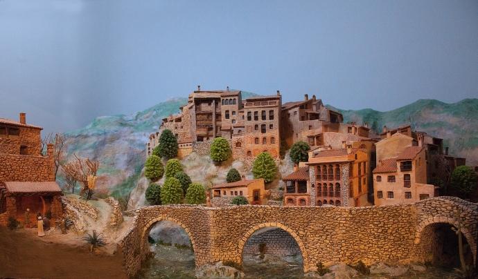 Moltes de les exposicions estaran disponibles fins al dia de Reis.  Font: Amics del Pessebre de Badalona