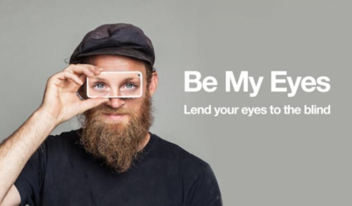Be My Eyes és una aplicació que uneix voluntariat i persones amb visió reduïda.