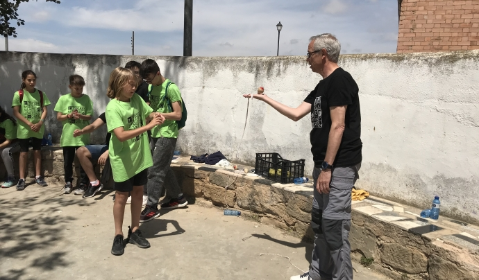 Biel Pubill va impulsar el Tradijoc la TRADIJOC (Trobada anual de jocs i esports tradicionals de la Ribera d'Ebre i Terra Alta) Font: cedida
