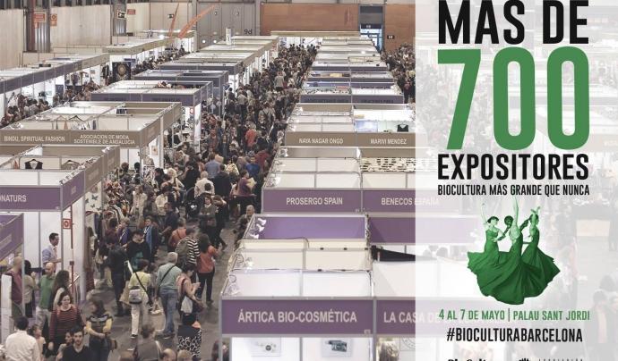 BioCultura 2017 tindrà més de 700 expositors Font: BioCultura