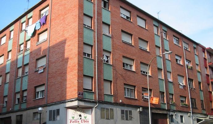 Un bloc de pisos