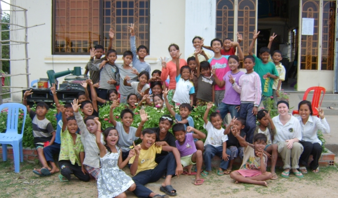 Camp de treball educatiu a Bolivia. Font: Wikimedia