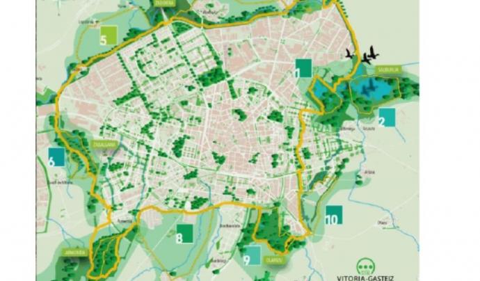 L'Atles recull experiències europees com el projecte de naturalització d'espais verds del barri de Lakua a Vitòria (imatge: EFUF)