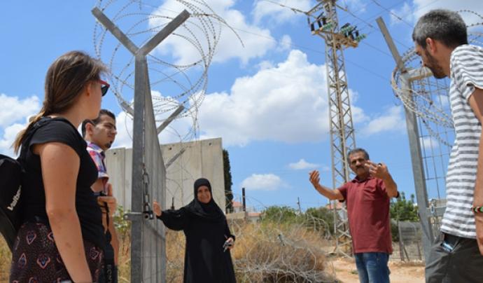 Brigades de Solidaritat a Palestina. Font: Associació Catalana per la Pau